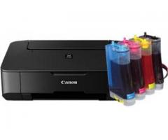 Canon mp237 3in1 printer converted to ciss ink
