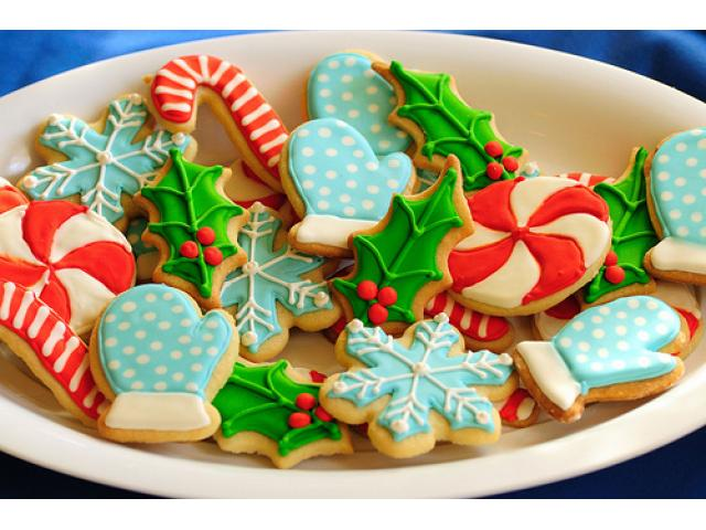 Christmas cookies or christmas giveaways