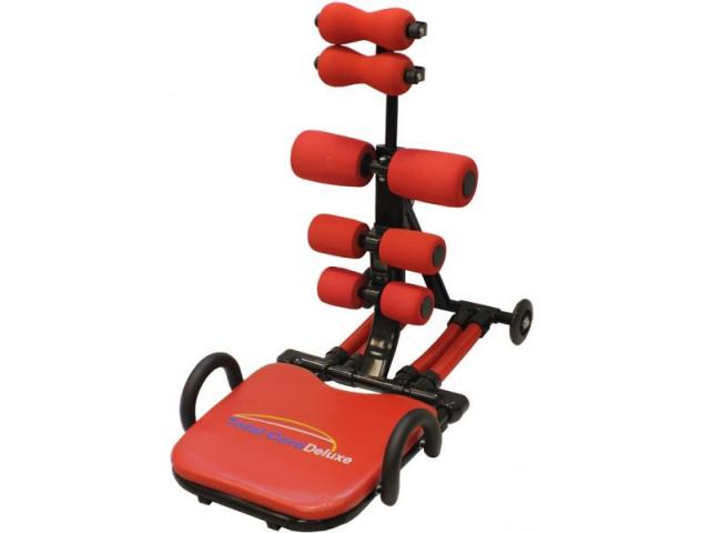 Ab Total Core Deluxe Fitness machine