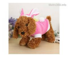 Pink Bunny Costume for Dogs