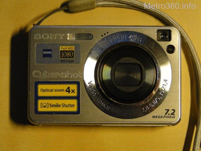 Sony cybershot DSC-W110 digital still camera