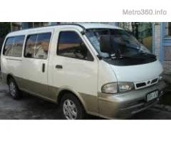 Van for Rent or for Hire Services