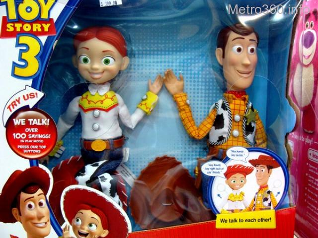 Selling Jessie and Woody Toy Story Interactive Buddies