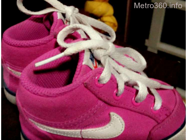 For sale Nike Pink Rubber Shoes for Babies