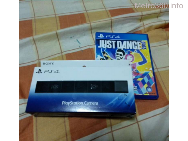 Ps4 Just Dance Bundle with Camera